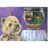 Cairn Terrier Note Cards Fishbowl