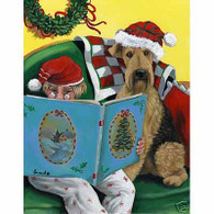 Airedale Terrier Storytails Christmas Cards