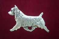 Australian Terrier Pewter Pin