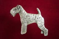 Lakeland Terrier Pewter Pin