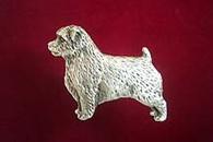 Norfolk Terrier Pewter Pin