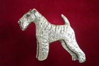 Welsh Terrier Pewter Pin