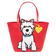 Westie Large Tote Bag