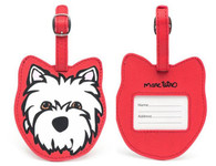 Westie Luggage Tag New