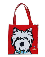 Westie Insulated Tote