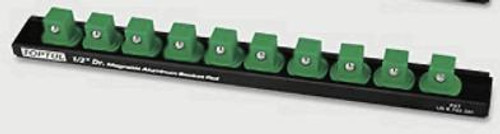 "Toptul PBKB4B2610 Magnetic Socket Rail 1/2"" (10 Holders)"