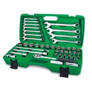 """Toptul GCAI4201 1/2"""" DR. 6PTFlank Socket Wrench Set 42pcs"""