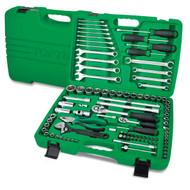 """Toptul GCAI9602 1/4"""" & 1/2"""" DR. 12PT Tool Kit 96pcs"""