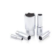 "Toptul BAEE0804 1/4"" DR. 6PT Deep Sockets 4mm"