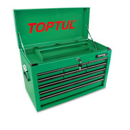 Toptul TBAA0901 9-Drawer Mobile Tool Chest  Green
