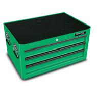 Toptul TBAA0304 General Series 3-Drawer Middle Tool Chest Green