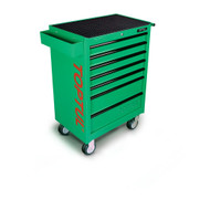 Toptul TCAA0701 General Series 7-Drawer Mobile Tool Trolley Green