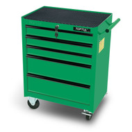Toptul TCAB0501 Small 5-Drawer Mobile Tool Trolley Green