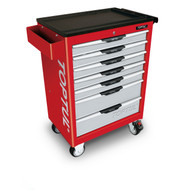 Toptul TCAC0702 Pro-Line Series 7-Drawer Mobile Tool Trolley Red