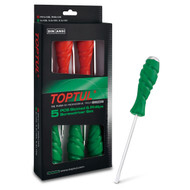 Toptul GAAE0509 Go-Thru Slotted and Phillips Screwdriver Set 5pcs