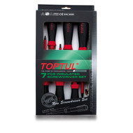 Toptul GAAE0704 VDE Insulated Screwdriver Set 7pcs