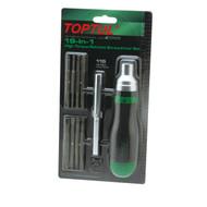Toptul GAAR1002 19-In-1 High Torque Ratchet Screwdriver Set