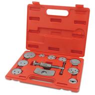 Toptul JGAI1201 Universal Caliper Disc Brake Wind Back Tool Kit 12pcs