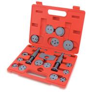 Toptul JGAI1801 Universal Caliper Disc Brake Wind Back Tool Kit 18pcs