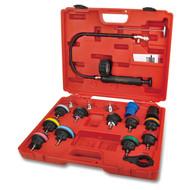 Toptul JGAI1802 Universal Radiator Pressure Tester Kit 18pcs