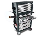 Toptul GW-08807/GV-27909 10 Drawer 367 PCS Pro Plus Series Tool Kit Grey