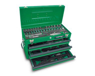 Toptul GCAZ0016 82 pcs 3 Drawer Mechanical Tool Set