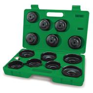 Toptul JGAI1401 Automotive Cup Type Oil Filter Wrench Set 14pcs