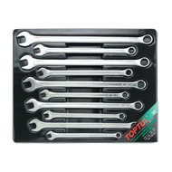 Toptul GAAF1008 Extra Long Combination Wrench Set Tray 10pcs