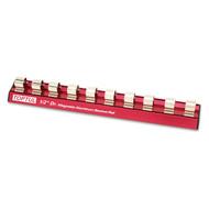 "Toptul PBKB4R2410 1/2"" Magnetic Aluminum Socket Rail (10 Holders)"