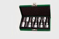 "Toptul GAAD0905 Long Hex Bit Socket Set 1/2"" 9pcs"