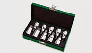 "Toptul GAAD1007 Hex Bit Socket Set 1/2"" 10pcs"