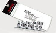 "Toptul GBAG0701 Flex Uni Sockets 3/8"" 7pcs"