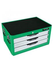 Toptul GCAZ0013 Pro-Line Tool Chest 3 Drawer 104pcs Green