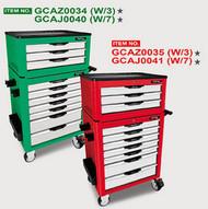 Toptul GCAZ0034 Pro-Line Tool Chest 3 Drawer 104pcs Green