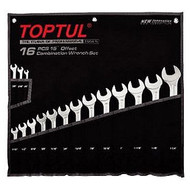 Toptul GPBW1601 Super Torque Combination Wrench Set AF 16pcs