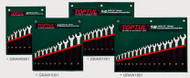 Toptul GRAW1601 Pro Combination 15° Wrench Set 14pcs