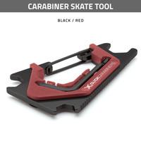 Carabiner Skate Tool - Black / Red
