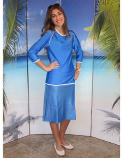 Ladies swim skirt-style 2622