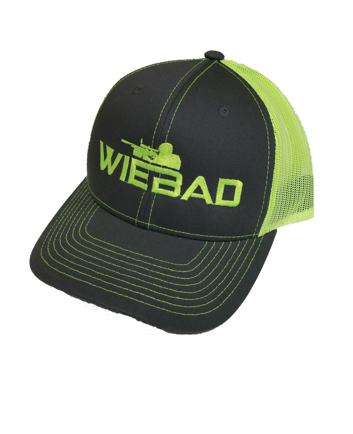 WieBad Logo Richardson Cap ( Neon Yellow)