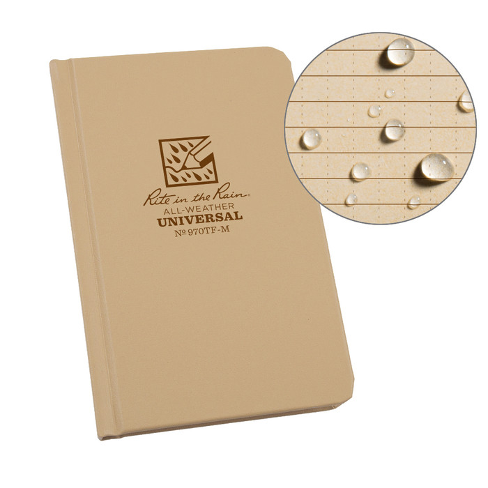 Rite in the Rain 370F-M All-Weather Fabrikoid Universal Pocket Book