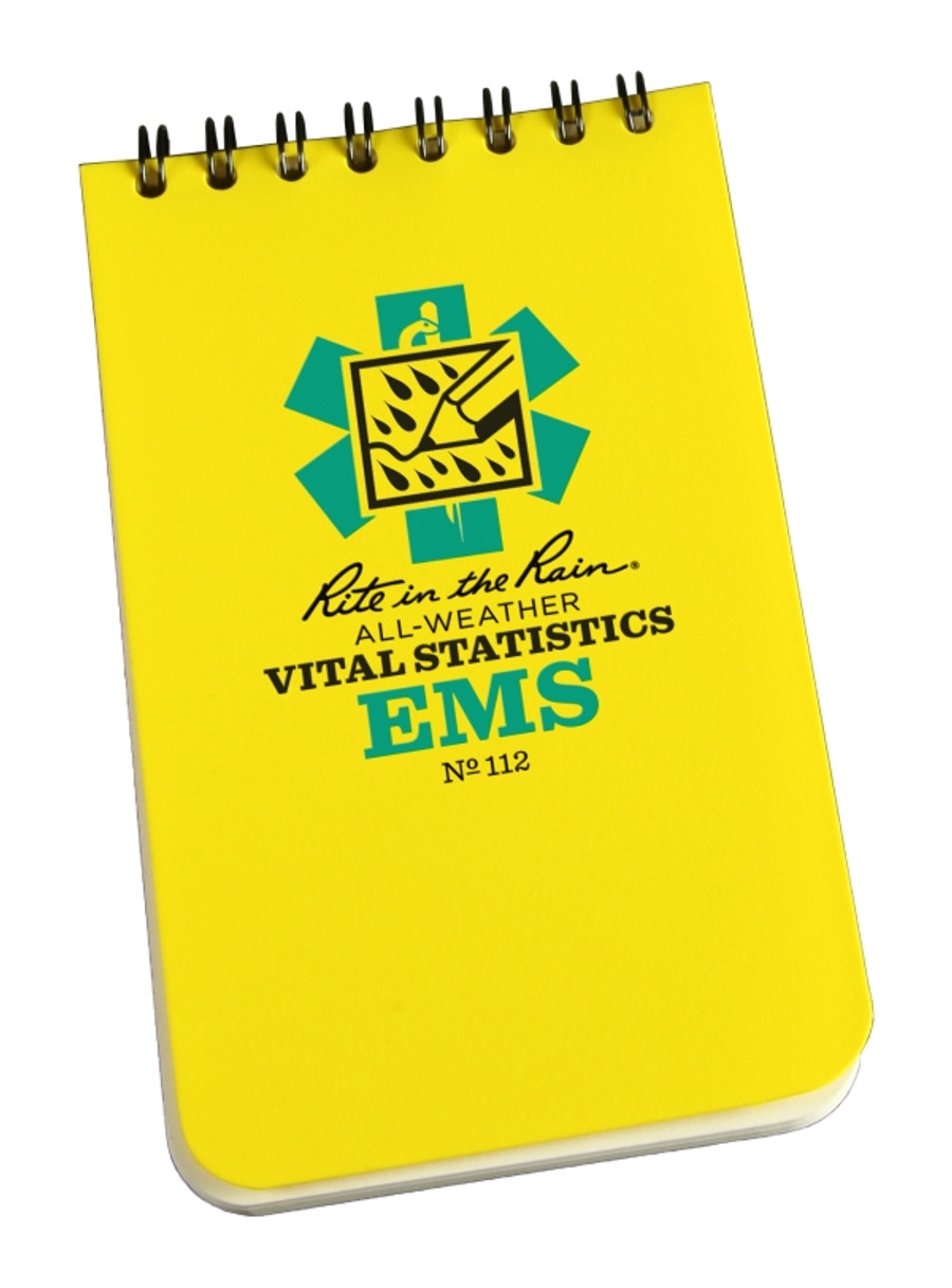 EMS Vital Stats Polydura 3 in x 5 in