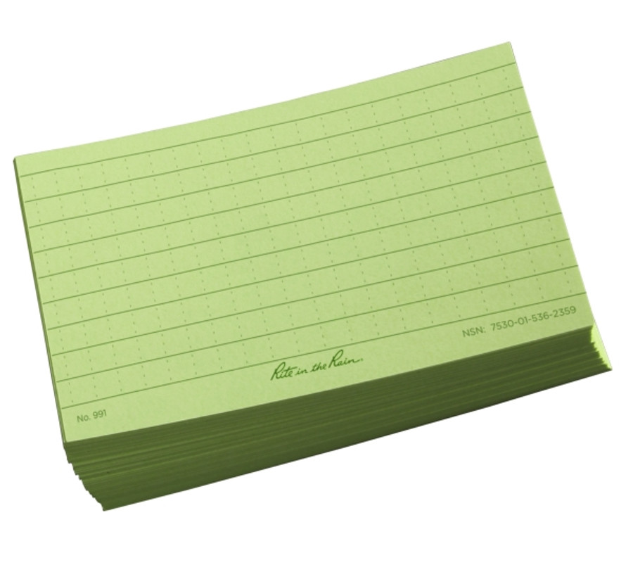 Index Cards 3 in x 5 in