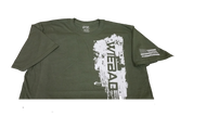 WieBad Vertical Logo Shirt (Green)