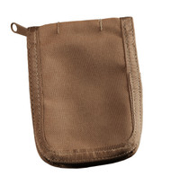 3 in x 5 in Cover Tan CORDURA® fabric 4 1/4 in x 6 in
