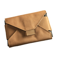 Index Card Wallet Tan Cordura® fabric 5 in x 3 in