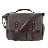 ONA Astoria Camera and Laptop Messenger Bag- Dark Tan