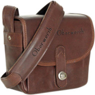 Oberwerth Bayreuth Small Leather Photo Bag - Dark Brown