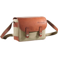 Oberwerth Freiburg Medium Cordura/Leather Photo Bag - Beige/Light Brown