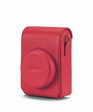 C-Lux Case, leather, red