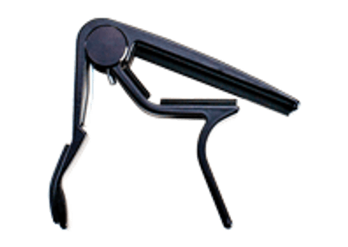 Jim Dunlop Trigger Clamp Style Classical Guitar Capo - Black